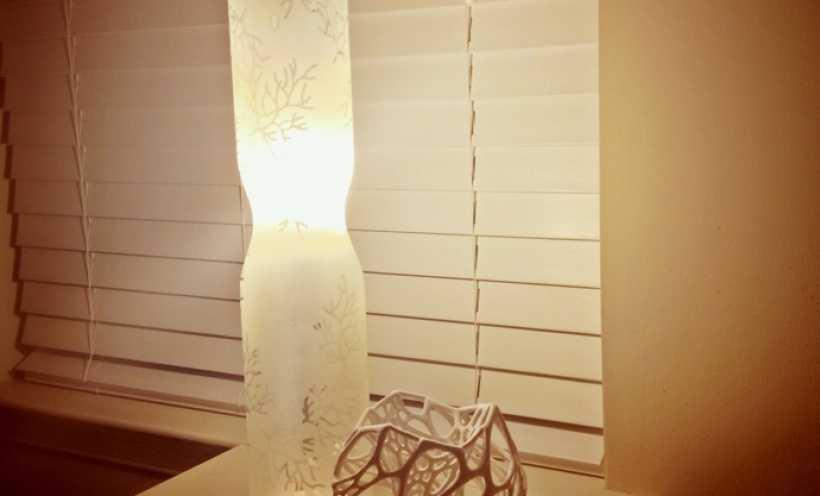 蜂窝灯 3D打印实物照片