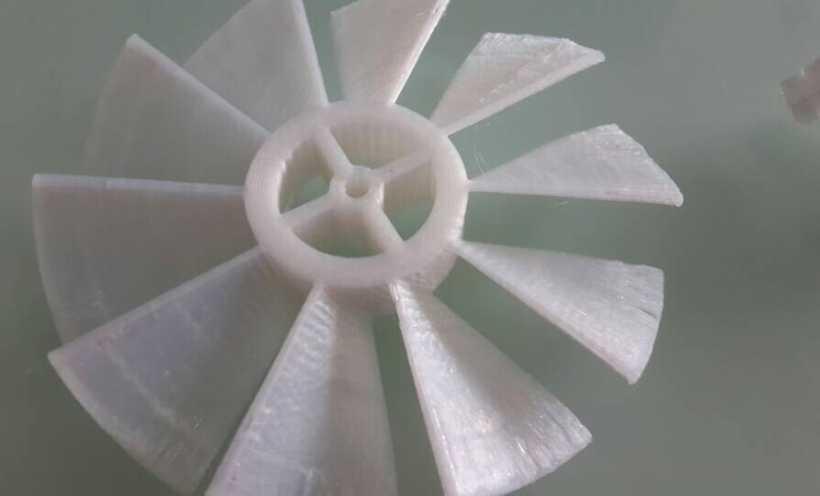 白色大象 3D打印实物照片