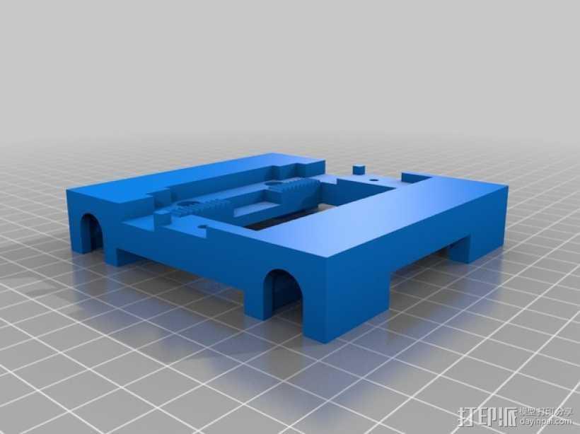 flashforge 梦想家 X轴 支架 3D打印模型渲染图