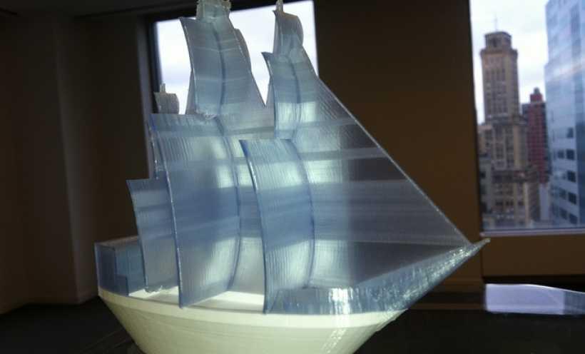 海盗船 3D打印实物照片