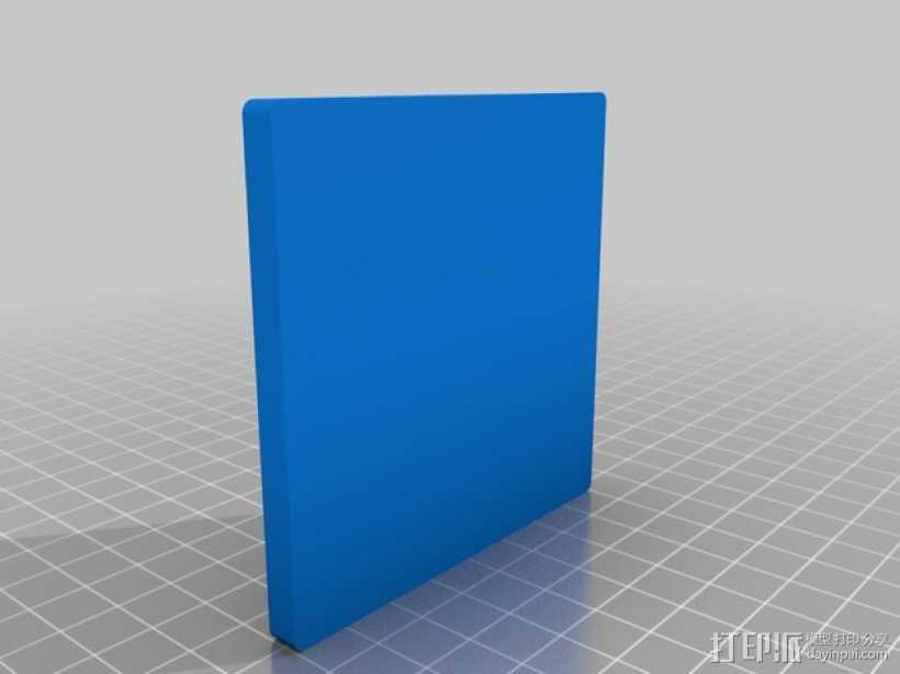 益智玩具 七巧板 3D打印模型渲染图