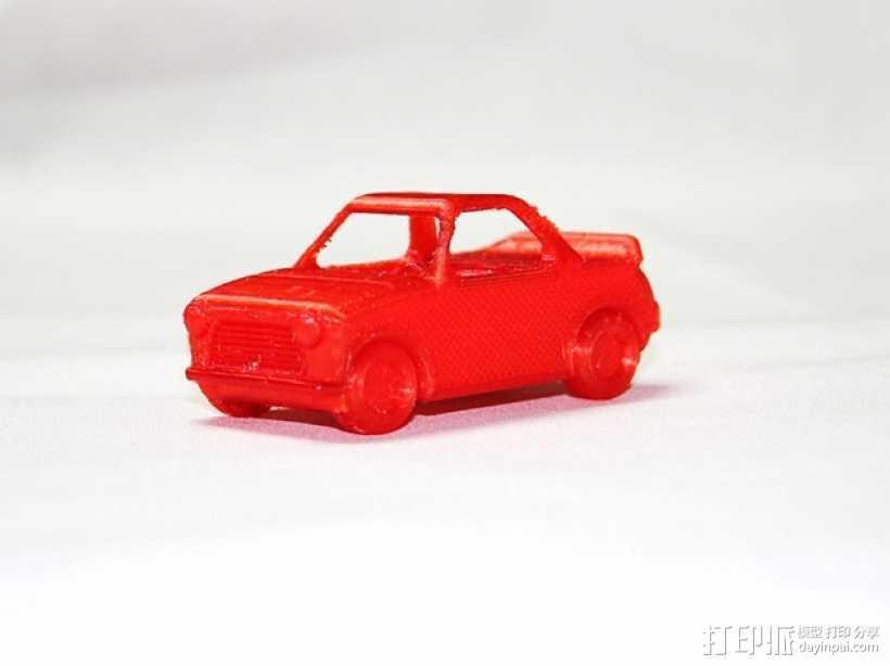 玩具运动跑车 3D打印模型渲染图