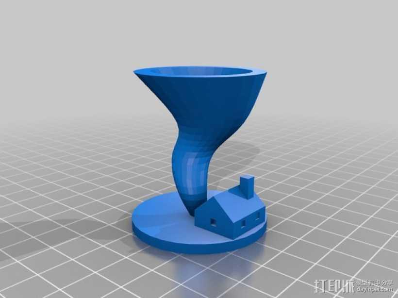 桌游旋转球模型 3D打印模型渲染图