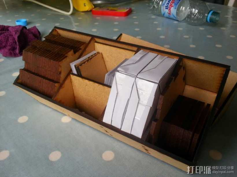 游戏《星球大战》收纳盒 3D打印模型渲染图