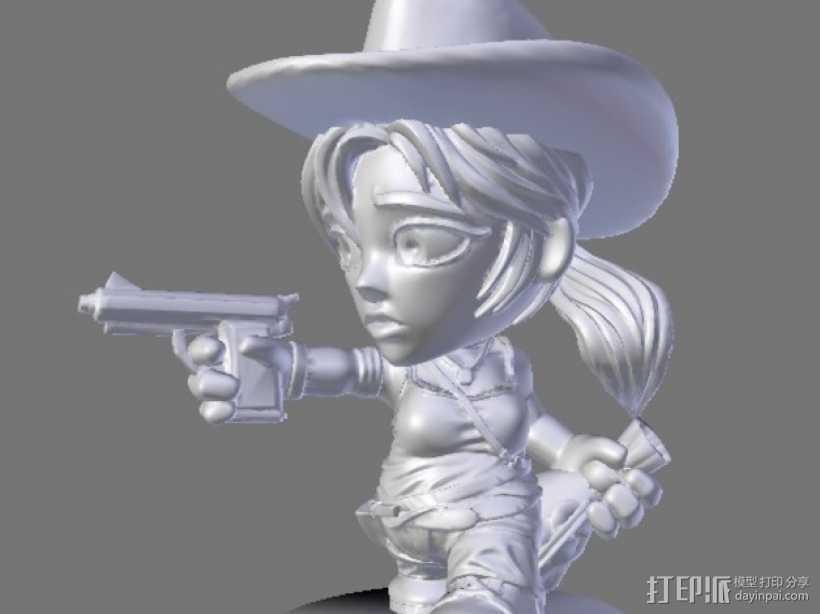 游戏《卡坦岛》中人物模型 3D打印模型渲染图