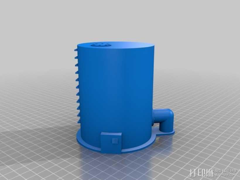 平底游戏收纳盒 3D打印模型渲染图