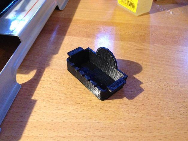 蒸汽机接水盘模型 3D打印模型渲染图