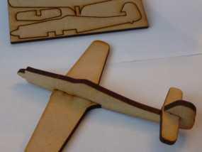 FW190D 沃尔夫战斗机模型