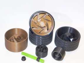 车轮工具包模型