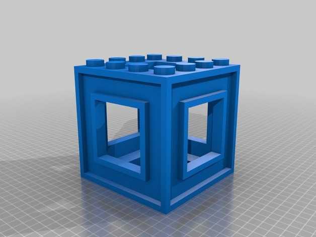 3D打印的迷宫 3D打印模型渲染图