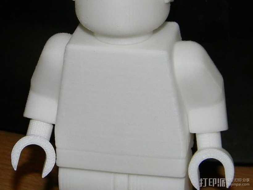 乐高玩偶模型 3D打印模型渲染图