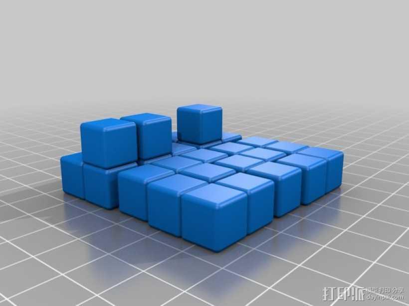 索玛立方块模型 3D打印模型渲染图