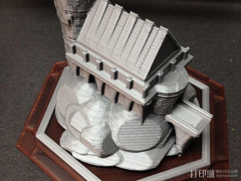 游戏《卡坦岛》中巫师城堡模型 3D打印模型渲染图