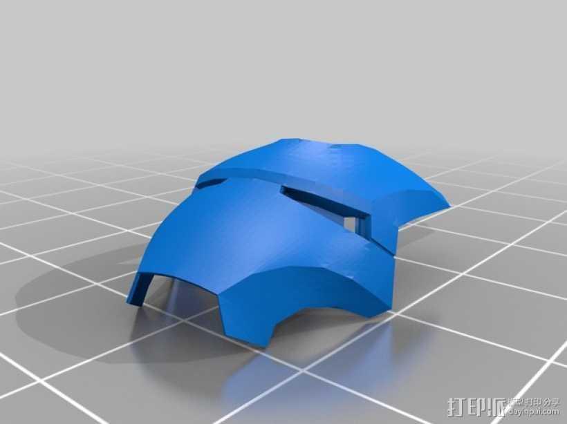 游戏《Mark III》人物面具模型 3D打印模型渲染图