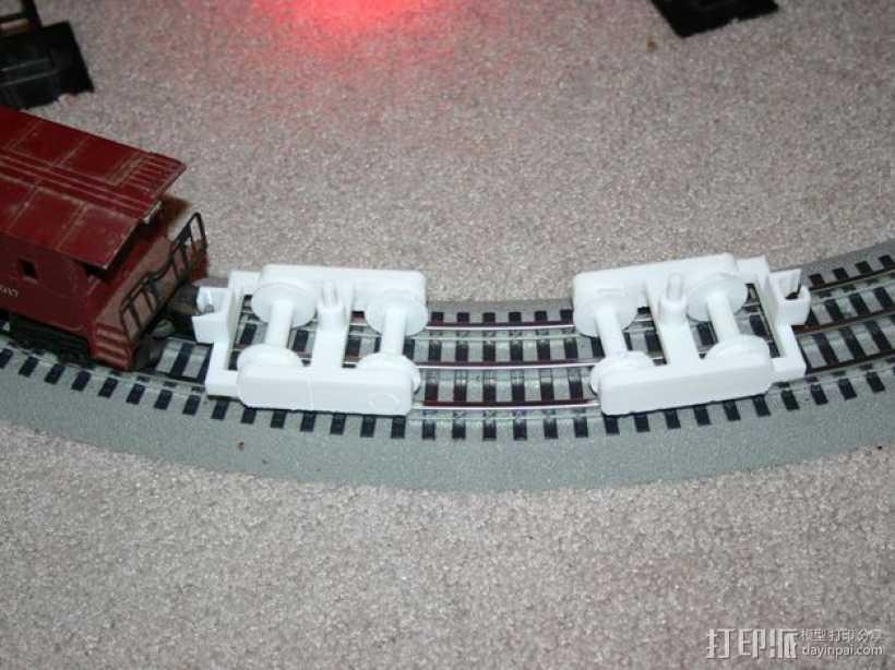 迷你铁路火车模型 3D打印模型渲染图