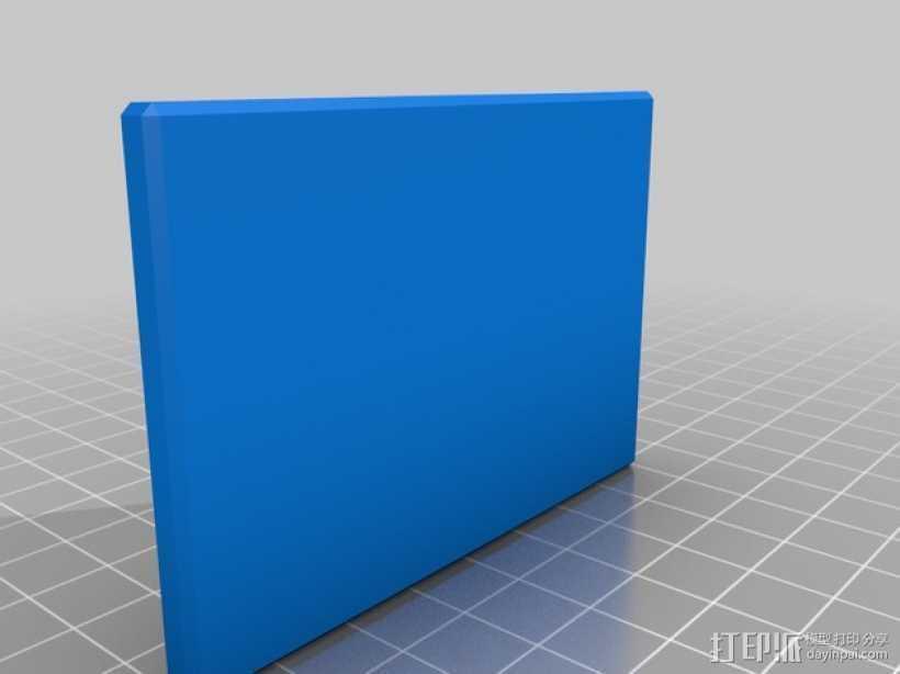 信用卡卡套 3D打印模型渲染图