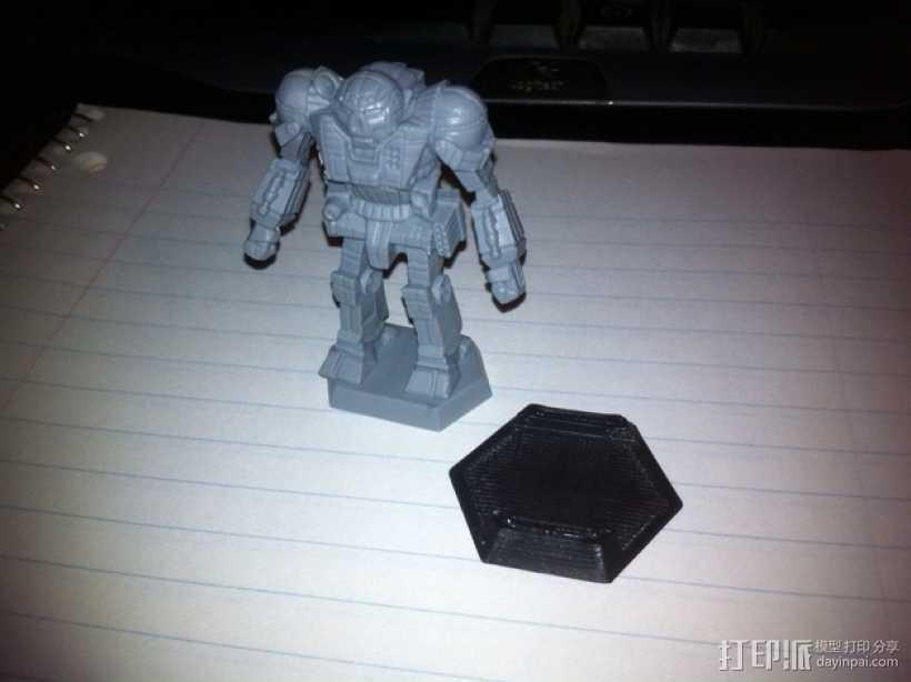 机甲战士迷你转换器模型 3D打印模型渲染图