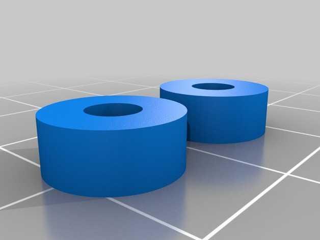 车轮的内轴模型 3D打印模型渲染图