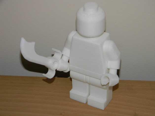 短弯刀模型 3D打印模型渲染图
