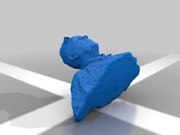 人偶模型 3D打印模型渲染图