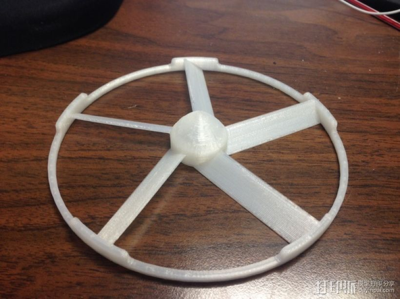 轻薄的火箭前锥体模型 3D打印模型渲染图