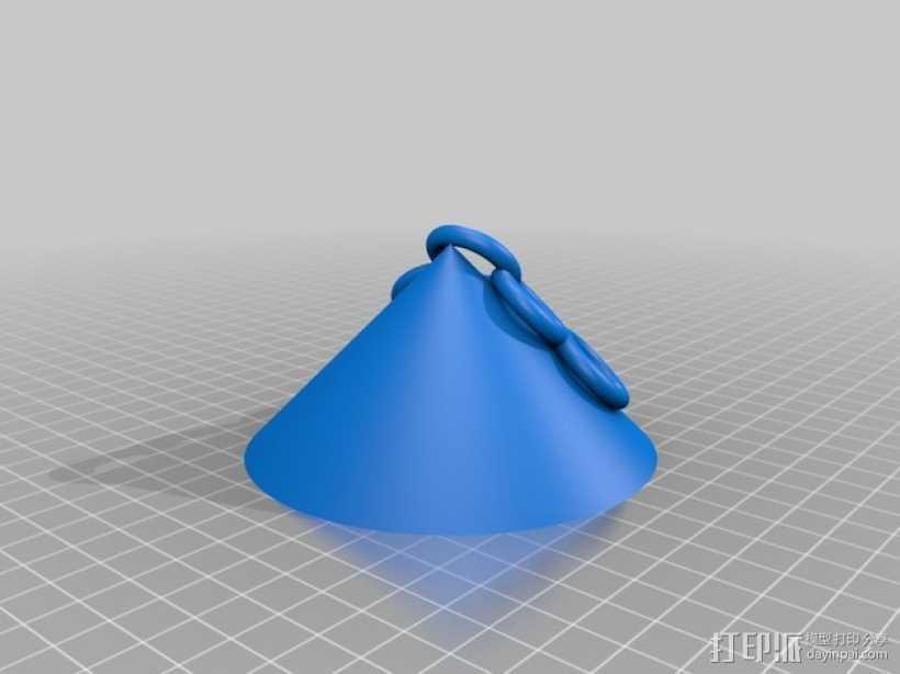 拱形顶棚模型 3D打印模型渲染图