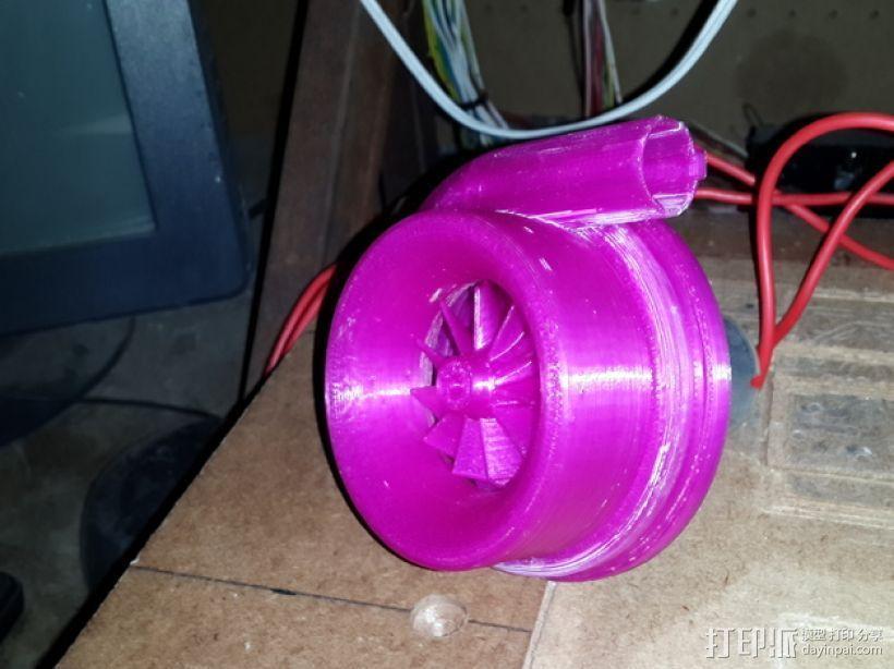 漩涡口哨模型 3D打印模型渲染图