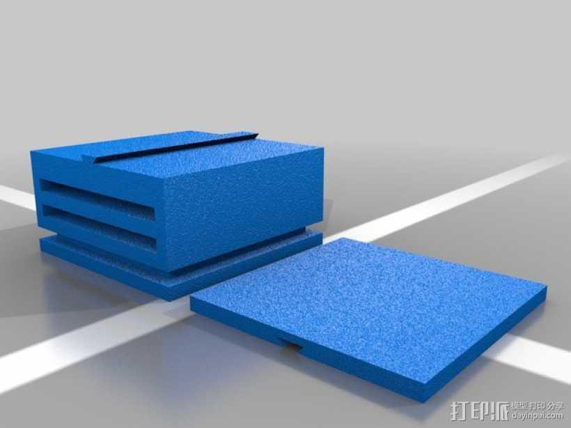迷你滑梯模型 3D打印模型渲染图