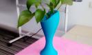 蓝色花瓶 3D打印图片