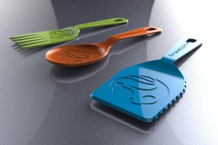 炊具 3D打印模型渲染图