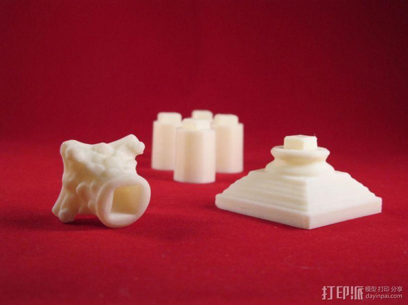 Seej柱子 3D打印模型渲染图