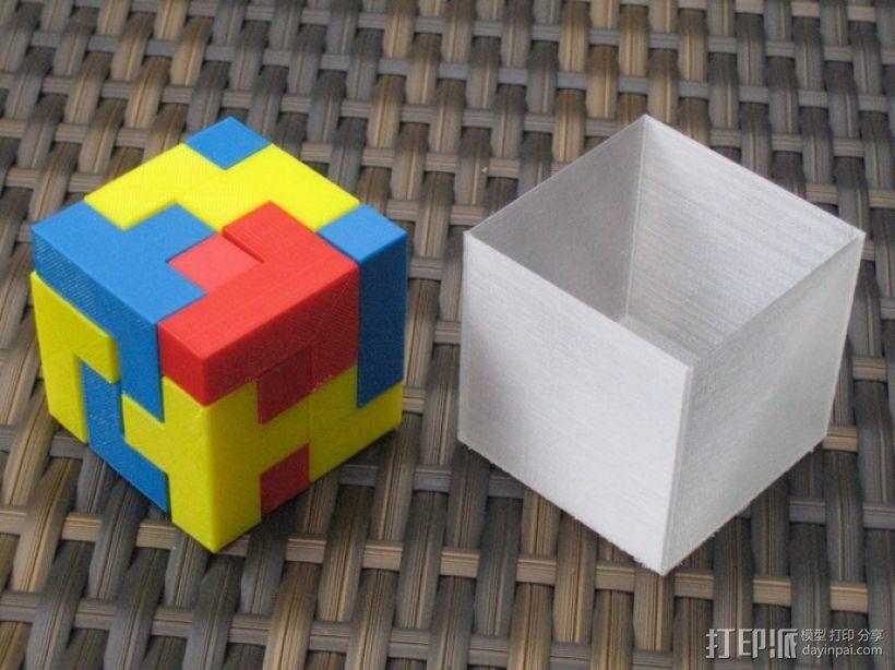 拼装立方体 3D打印模型渲染图