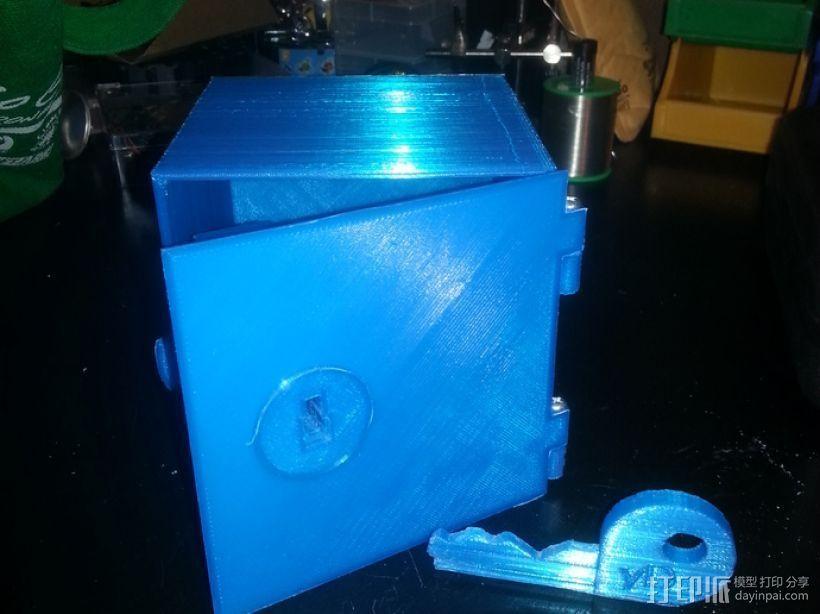 藏宝箱 3D打印模型渲染图