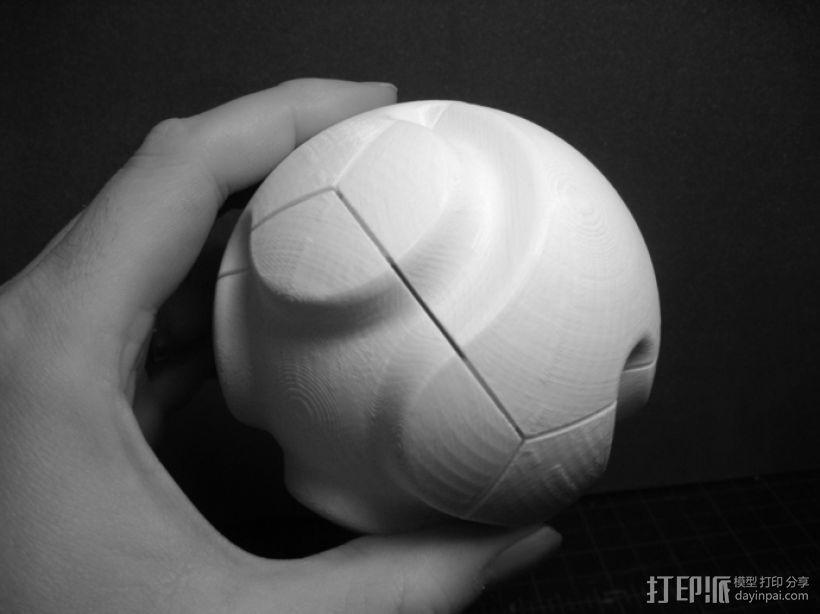 多面球体 3D打印模型渲染图