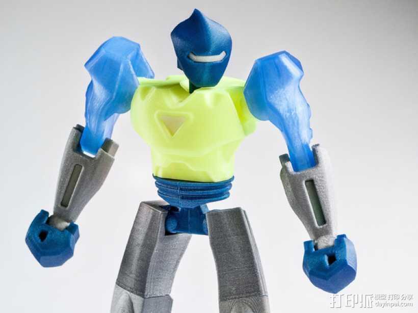 Vertex2机器人 3D打印模型渲染图
