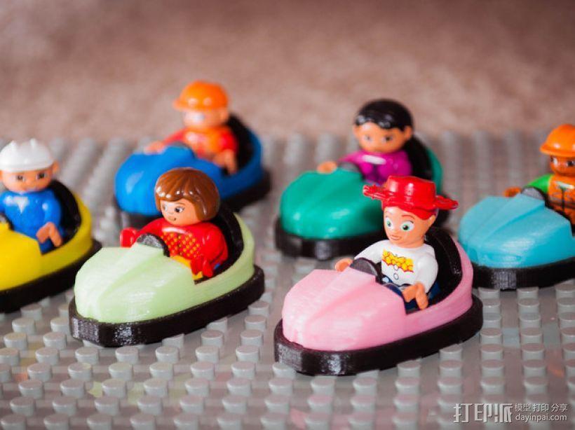 碰碰车 3D打印模型渲染图