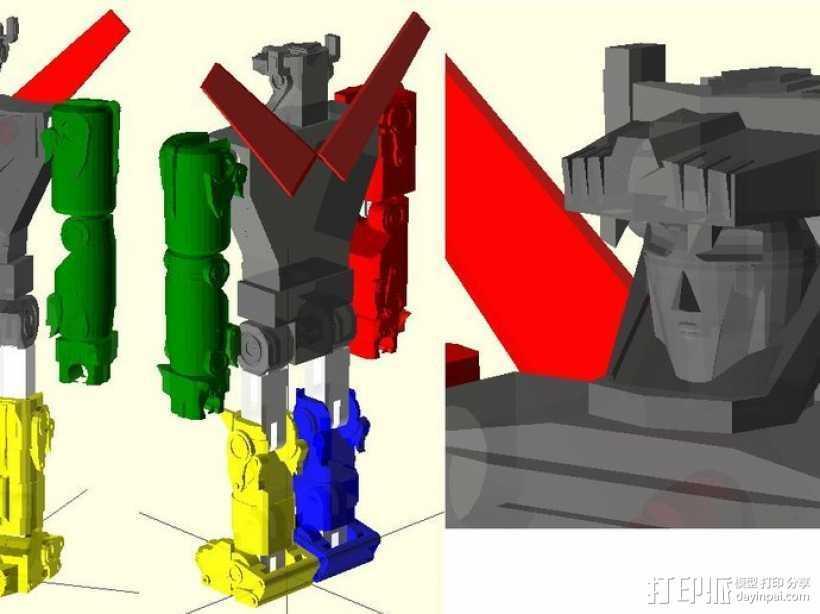 战神金刚 3D打印模型渲染图
