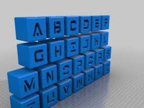 字母立方体