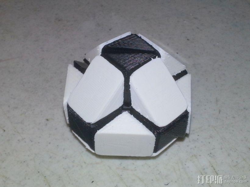 Rubik关节蛇 3D打印模型渲染图