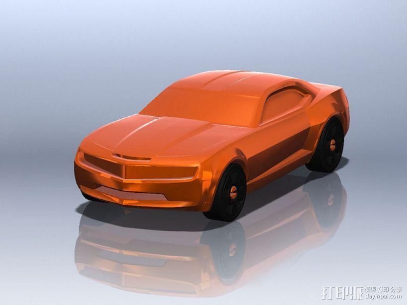 雪佛兰2010 3D打印模型渲染图