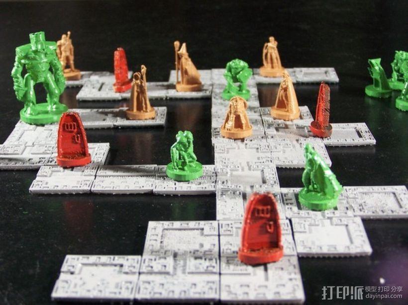 《Pocket-Dungeons》冒险游戏 3D打印模型渲染图