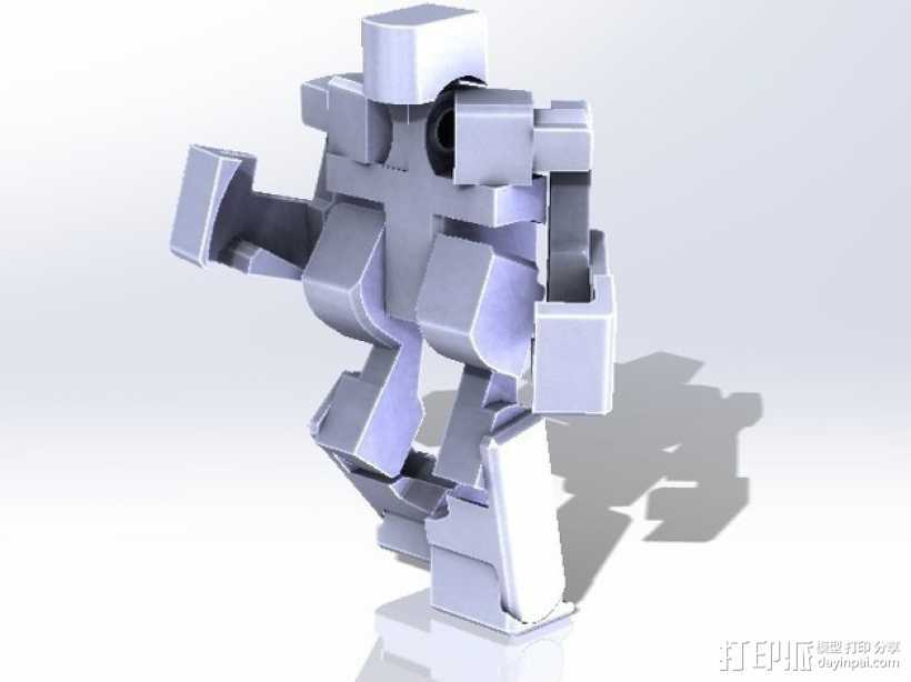 Blockbot V3.1 3D打印模型渲染图