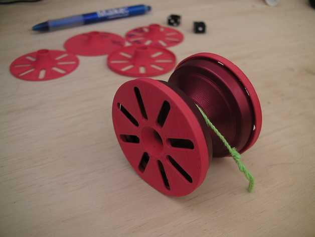 溜溜球轴承环 3D打印模型渲染图