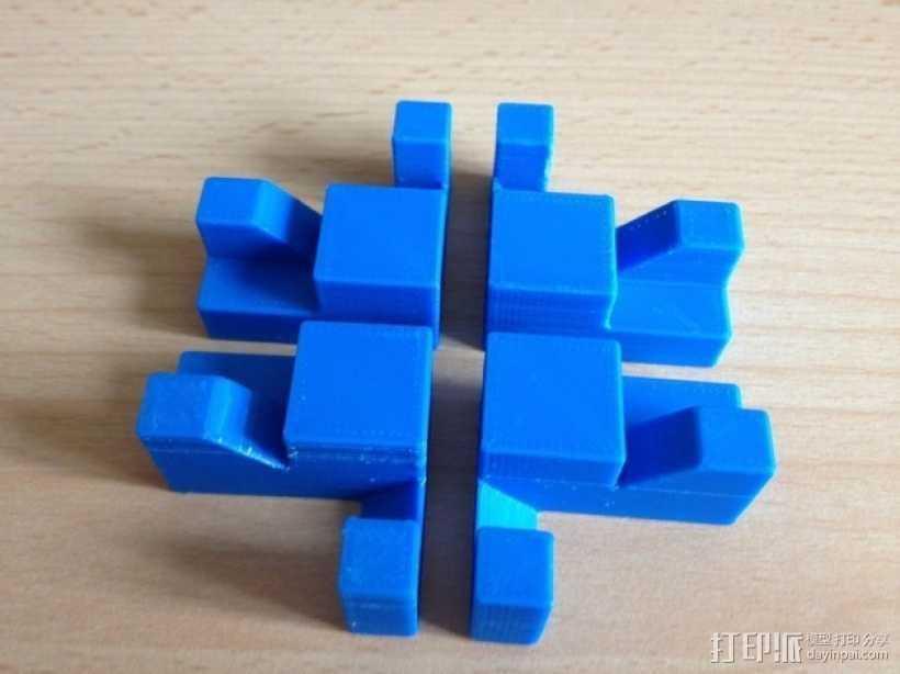 魔方 3D打印模型渲染图