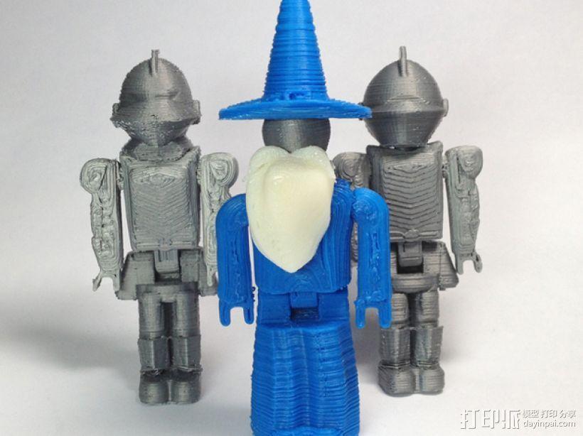 MakerBot巫师玩具 3D打印模型渲染图