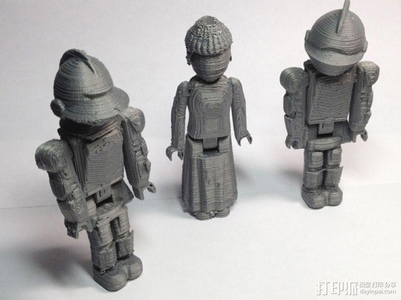 MakerBot骑士 3D打印模型渲染图