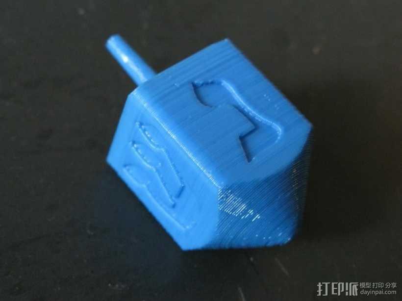 四面陀螺 3D打印模型渲染图