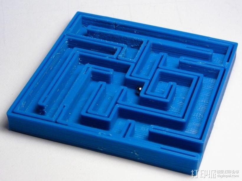 重力球迷宫 3D打印模型渲染图