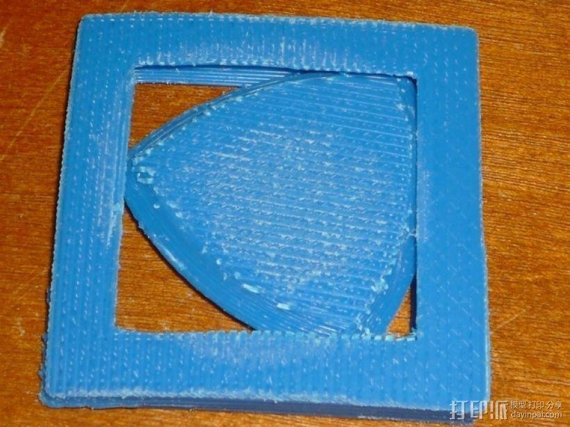 勒洛三角形 3D打印模型渲染图