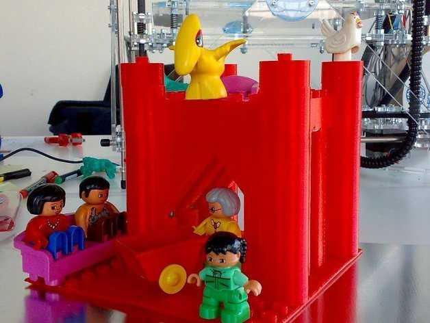 Doblo玩具工厂 3D打印模型渲染图